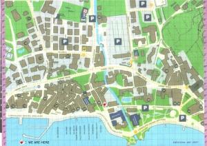 Cartina parcheggi a Garda